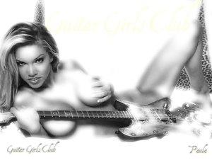 Guitar Girls Club Wallpaper by GuitarGirlsClub