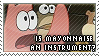 stamp - patrick and mayonnaise by betsyamparan