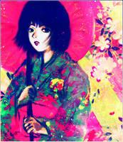 Psicodelia japonesa by betsyamparan