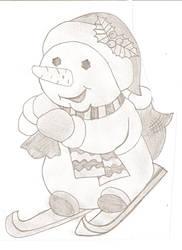 Snowman 1 by NicoRobin96