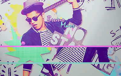 Bruno Mars Signature by Dame-Tsu