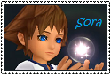 Kid Sora stamp by My13Memories