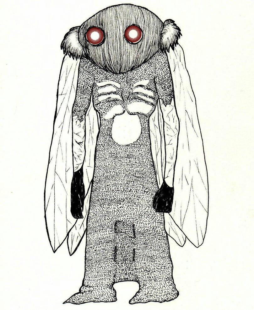 Mothman's Eyes by Orfieu