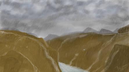 Rain-Painting by zmtejani