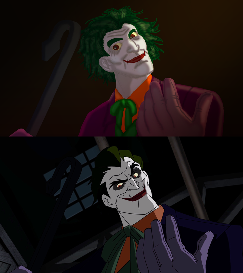 Redrawn Screenshot: Joker by White-Rose-Brian