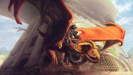 Expeditionary Dragon by BenArtsStudio