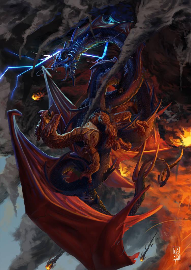 Fire and Thunder by BenArtsStudio