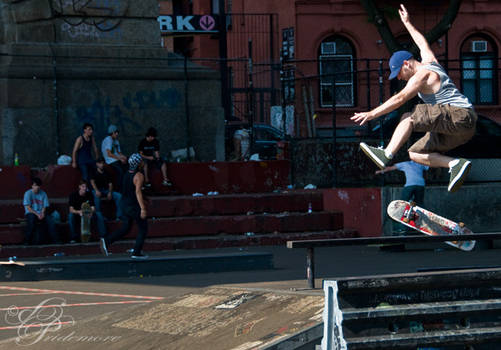 Skateboarder I
