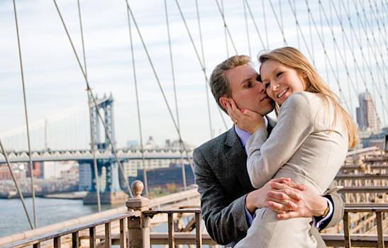 Love on the Brooklyn Bridge