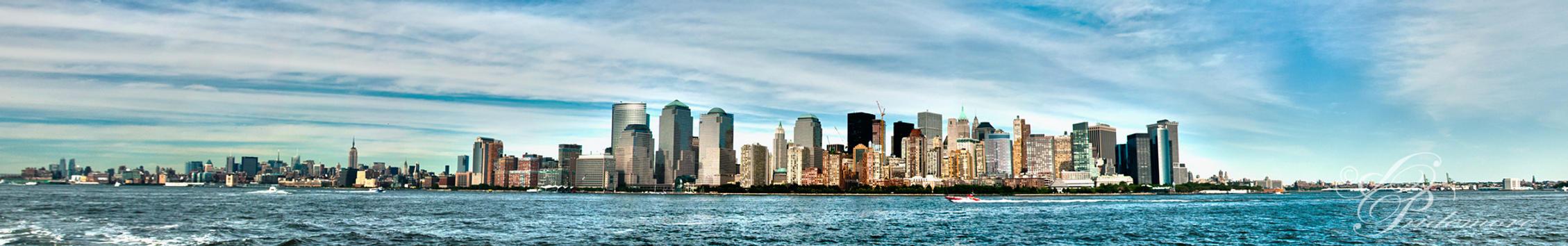 New York Skyline Panorama by deviouselite
