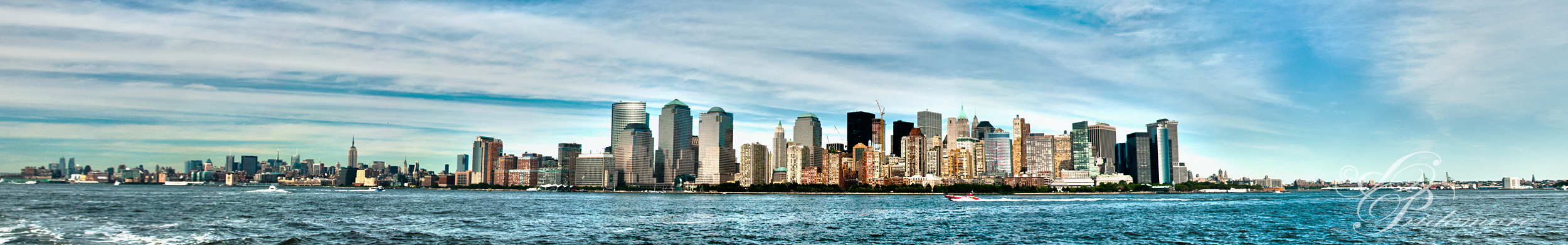 New York Skyline Panorama by deviouselite