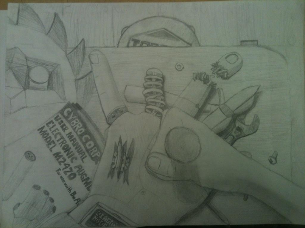 DIY Cyborg Shop by Orangestar12