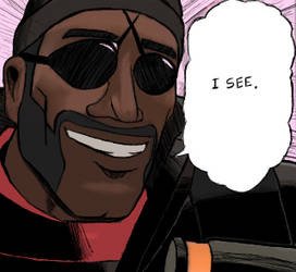The Demoman Can See