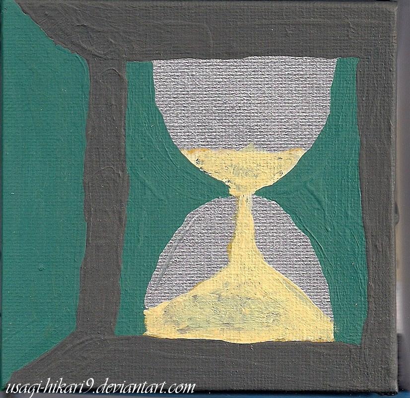 Cube of Time: Top Side by usagi-hikari9