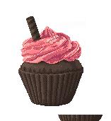 Dark Chocolate Cuppycake by RainbowGoreArt