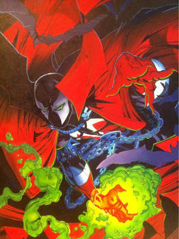 Spawn cover, issue #1
