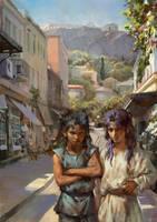 Saga and Kanon by rogner5th