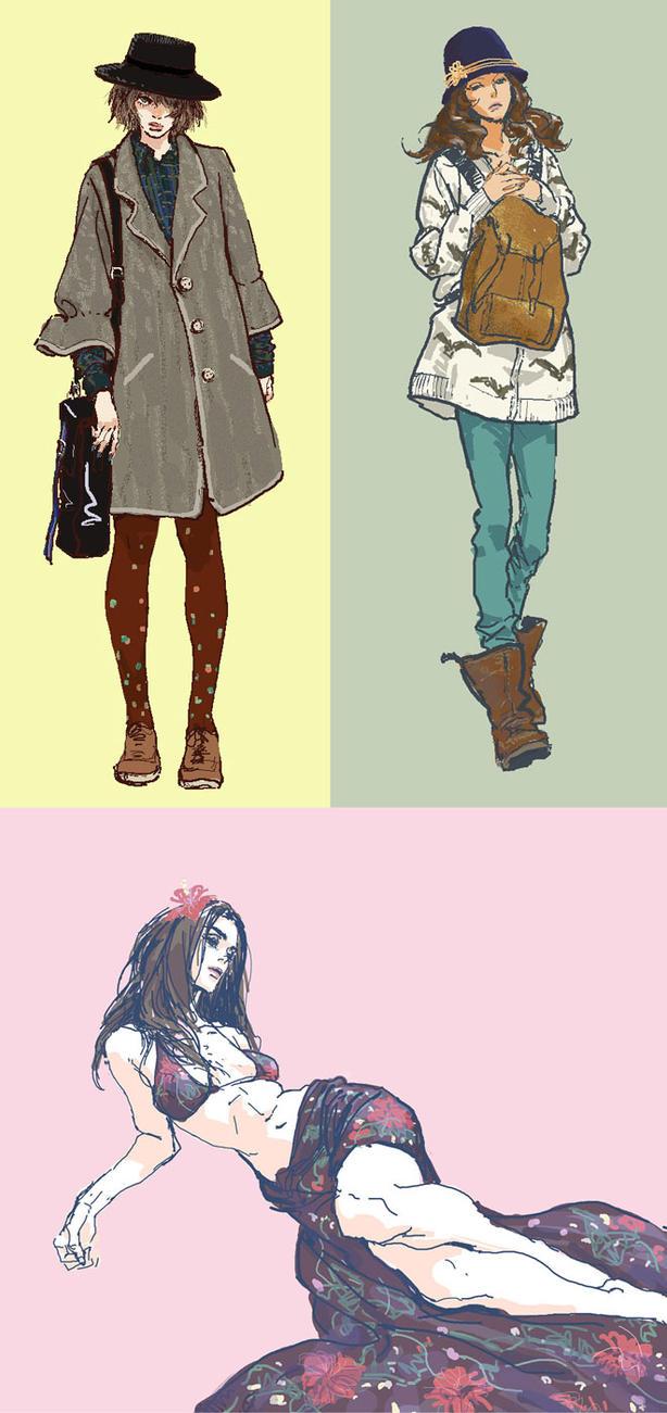 girls by rogner5th
