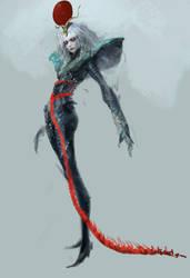 snake girl by rogner5th