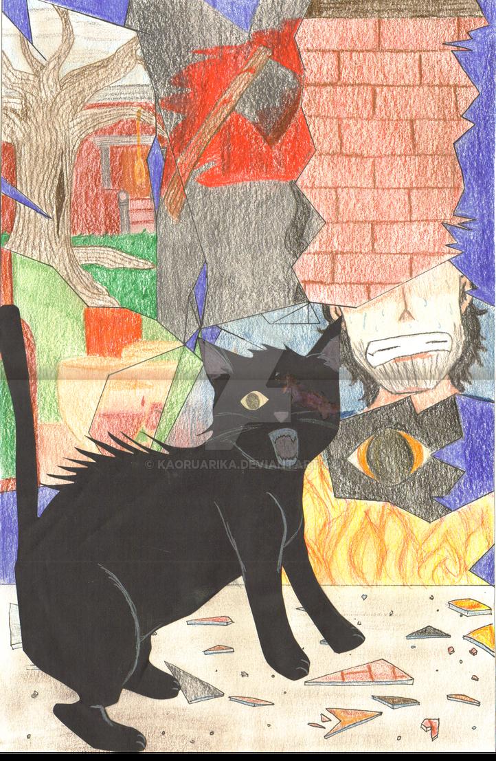 El gato negro by kaoruarika on deviantart - El gato negro decoracion ...