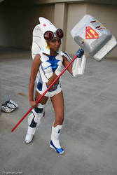 DC Ame Comi Steel Cosplay