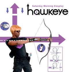 Hawkeye Cover Cosplay