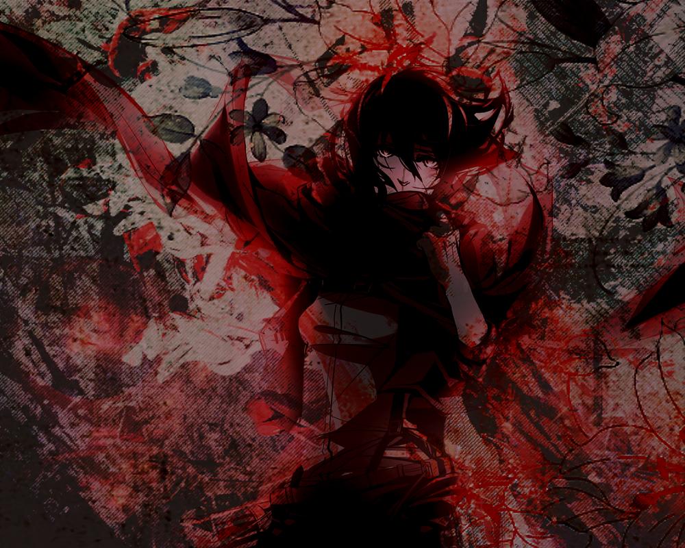 Mikasa Wallpaper by IchigoGirl9876