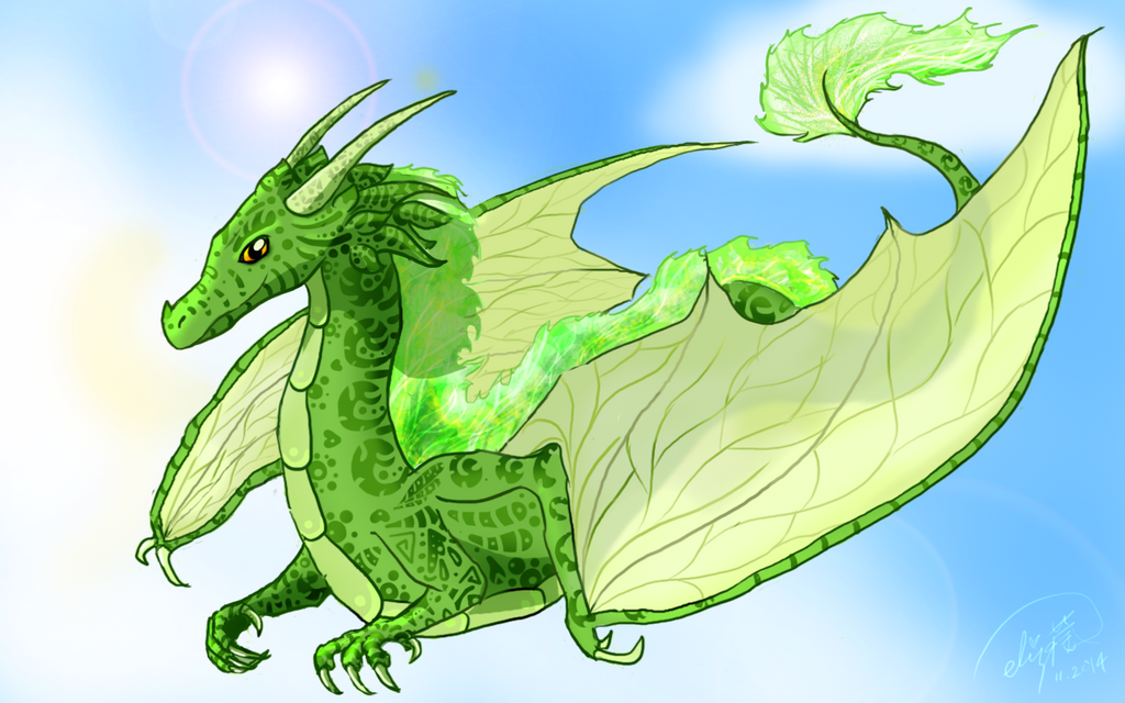 Emerald by RainThatFallsSoftly