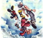 Kingdom Hearts 3D box cover artwork