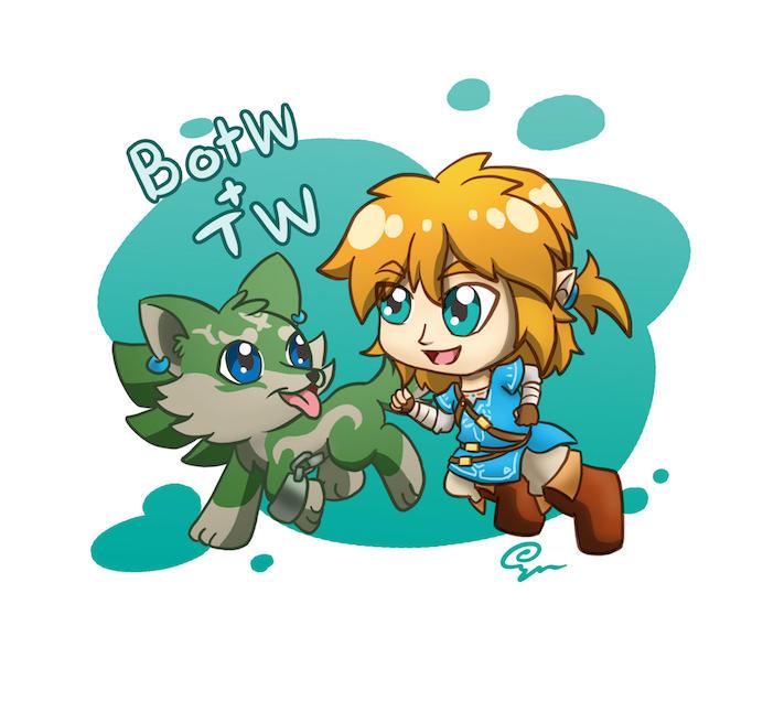 Chibi BotW+TW Links: Partners