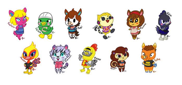 Animal Crossing: My Villagers