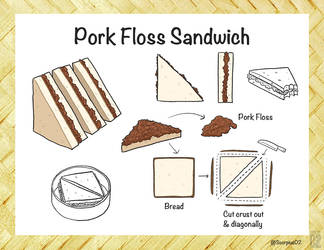 Pork Floss Sandwich