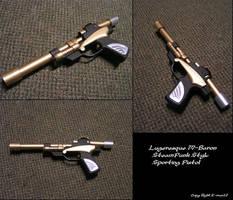 Steampunk Luger by Z-man12
