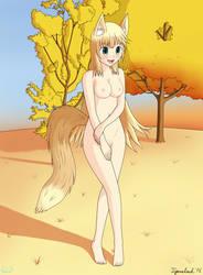 Request - Ikinari Haruka OC (Nude) by Angel-Tigercloud
