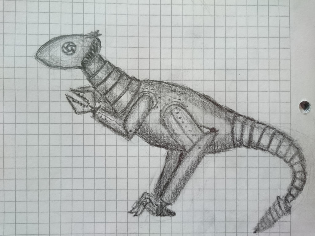 Mechanosaurus by najodleglejszy