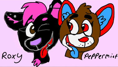 Roxy and Peppermint by Freddyfangirl12