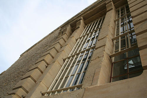 Prison windows by puncturedbicycle