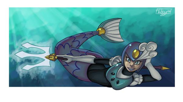 SplashWoman by digitallyfanged
