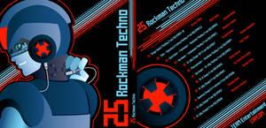 25th Rockman Techno Album by digitallyfanged