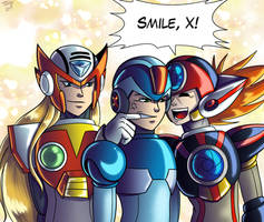 Smile, X! by digitallyfanged