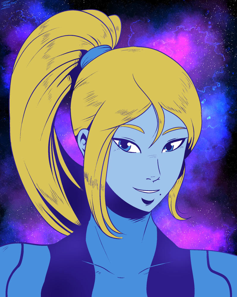 Samus by digitallyfanged