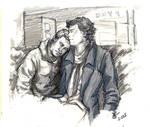 Airport John and Sherlock