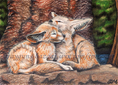 Better Together ACEO by De-Vagrant