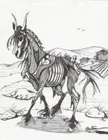 Horse Demon by Blue2Fyre