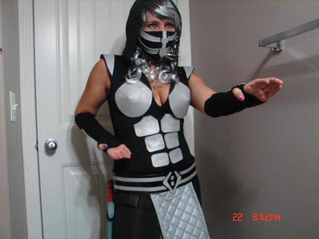 full female smoke costume by smokegirl85 - Mortal Kombat Smoke Halloween Costume