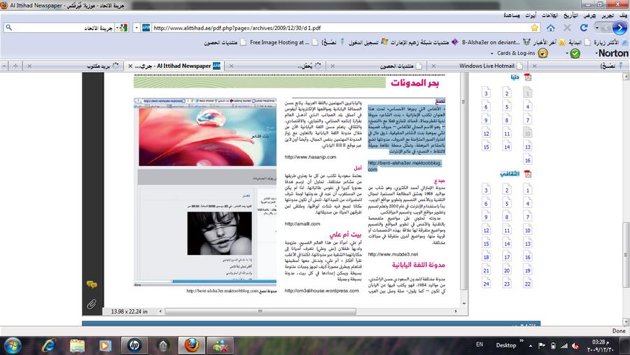 bent-alsha3er blog by B-Alsha3er