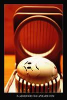 sad egg by B-Alsha3er