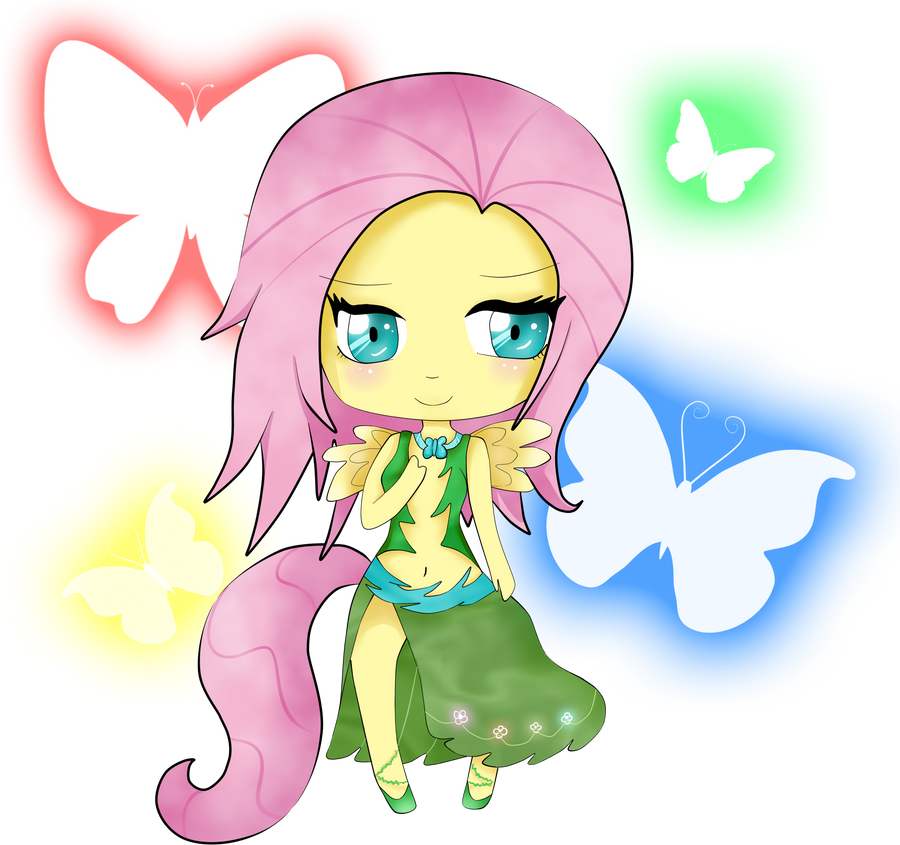 MLP Chibi: Fluttershy by Sumima on DeviantArt