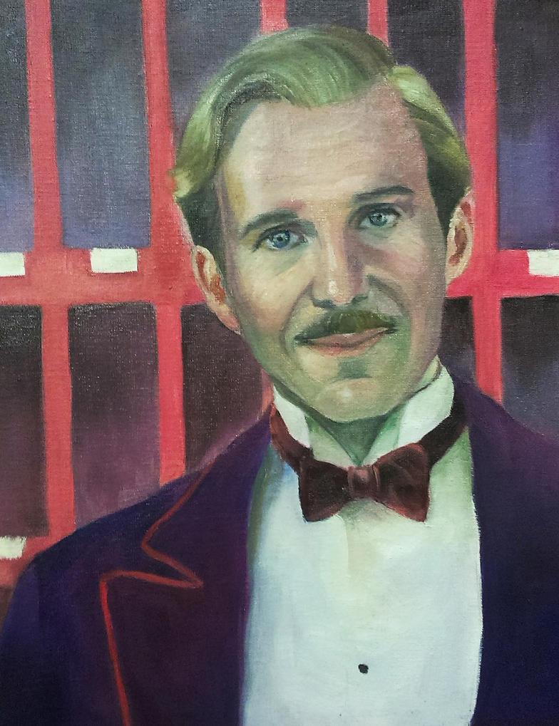 M. Gustave by staroksi