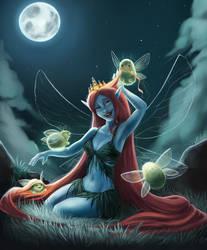 Faerie Princess and her Glowfloofs